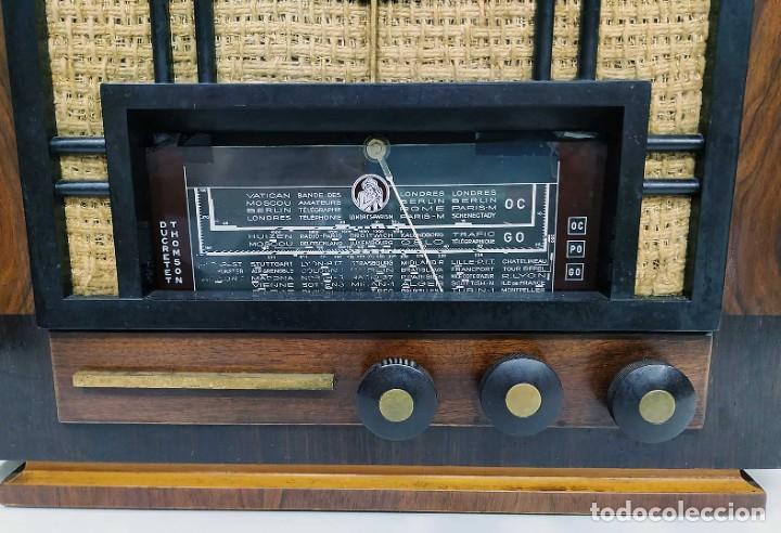 Radios de válvulas: ANTIGUA RADIO THOMSON DUCRETET 924. FUNCIONANDO. 220 V. ORIGINAL DE ÉPOCA. AÑOS 30. - Foto 2 - 206257027
