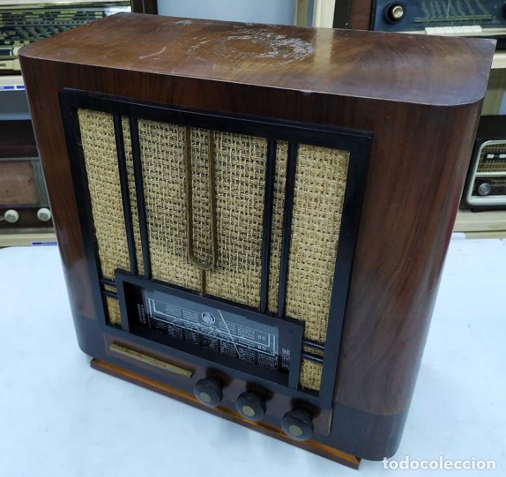 Radios de válvulas: ANTIGUA RADIO THOMSON DUCRETET 924. FUNCIONANDO. 220 V. ORIGINAL DE ÉPOCA. AÑOS 30. - Foto 5 - 206257027