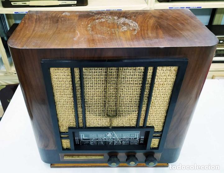 Radios de válvulas: ANTIGUA RADIO THOMSON DUCRETET 924. FUNCIONANDO. 220 V. ORIGINAL DE ÉPOCA. AÑOS 30. - Foto 6 - 206257027