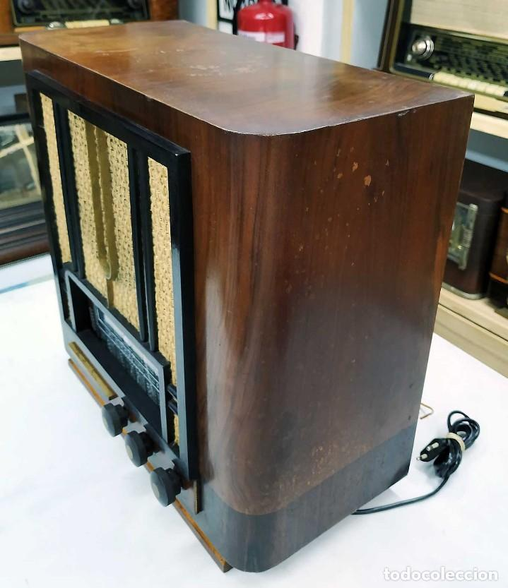 Radios de válvulas: ANTIGUA RADIO THOMSON DUCRETET 924. FUNCIONANDO. 220 V. ORIGINAL DE ÉPOCA. AÑOS 30. - Foto 7 - 206257027