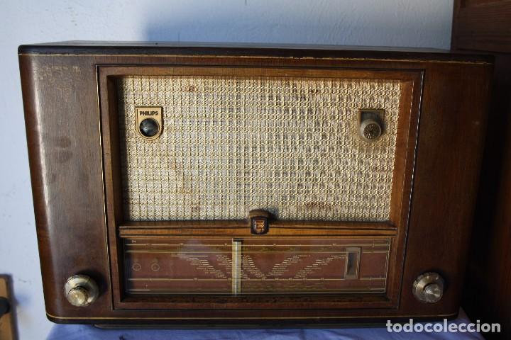 PHILIPS TYP BX 632A19 FUNCIONA (Radios, Gramófonos, Grabadoras y Otros - Radios de Válvulas)