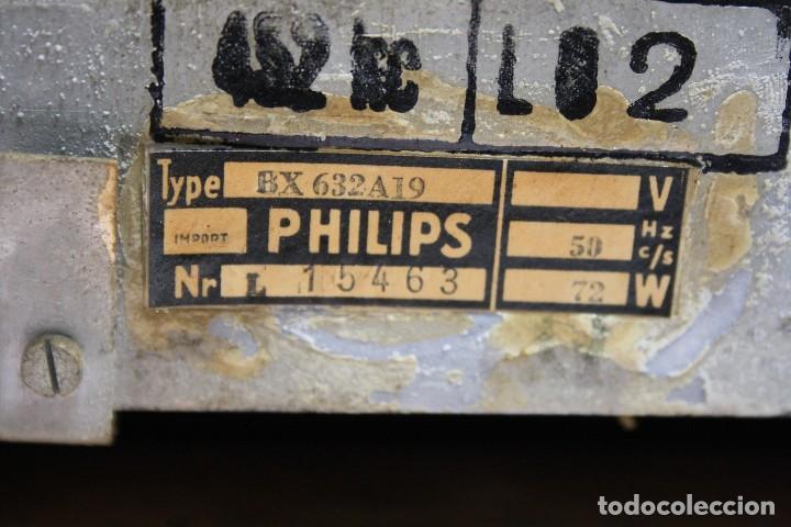 Radios de válvulas: PHILIPS TYP BX 632A19 FUNCIONA - Foto 3 - 206358965