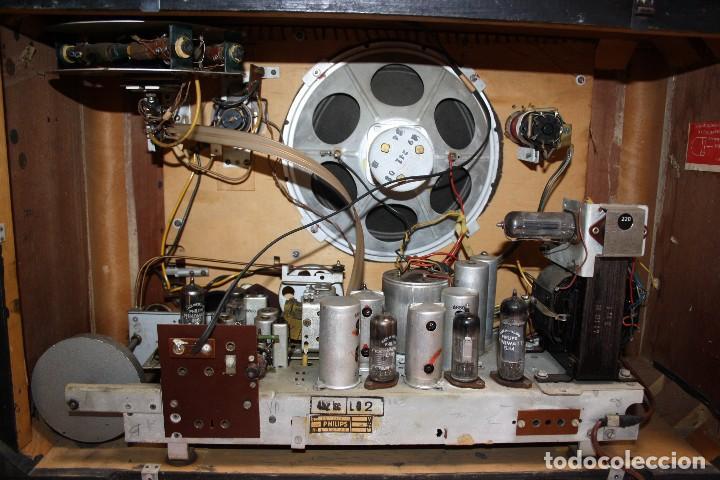Radios de válvulas: PHILIPS TYP BX 632A19 FUNCIONA - Foto 4 - 206358965