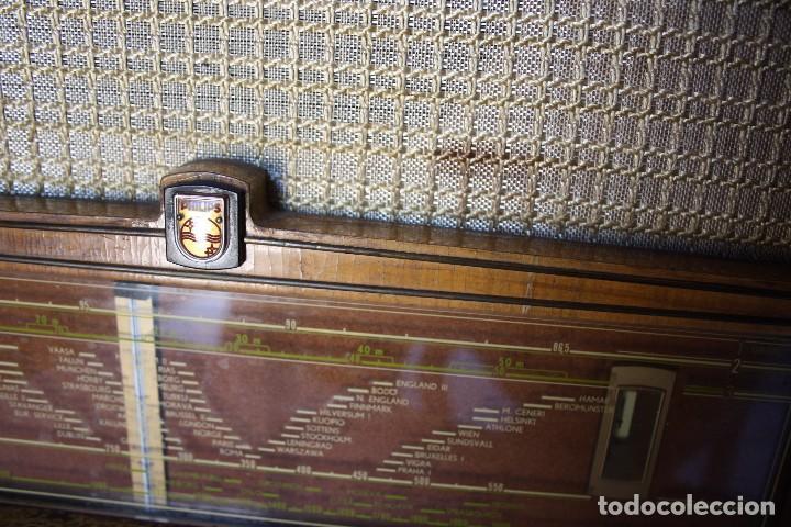 Radios de válvulas: PHILIPS TYP BX 632A19 FUNCIONA - Foto 12 - 206358965