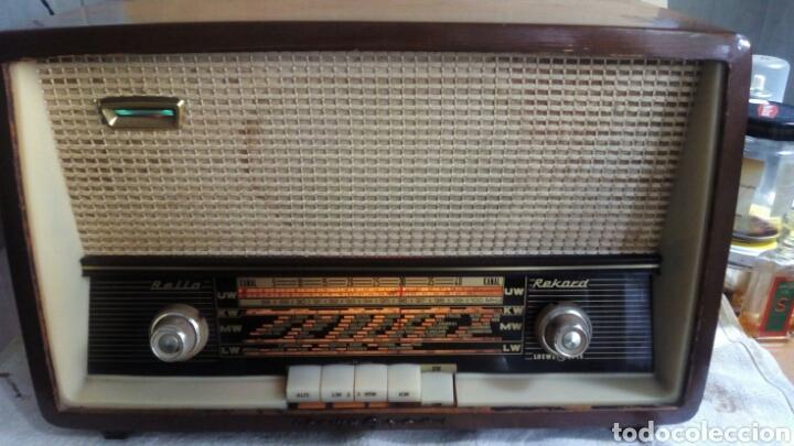 RADIO, LOEWE OPTA 6725 W , MUY BUEN ESTADO. (Radios, Gramófonos, Grabadoras y Otros - Radios de Válvulas)