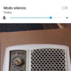 Radios de válvulas: T-21.- RADIO DE VALVULAS -- PERIQUITO -- MONITOR , FALTA TAPA TRASERA , CARCASA EN BUEN ESTADO. Lote 206496381
