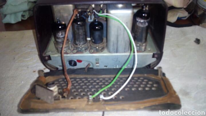 Radios de válvulas: Radio.Mini.Thomson-Ducretet.Md.3923 funciona. - Foto 9 - 206776302