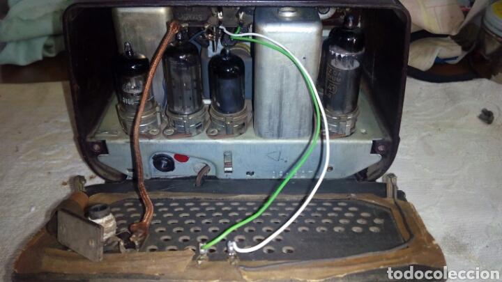 Radios de válvulas: Radio.Mini.Thomson-Ducretet.Md.3923 funciona. - Foto 10 - 206776302