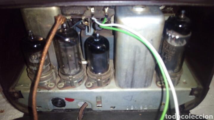 Radios de válvulas: Radio.Mini.Thomson-Ducretet.Md.3923 funciona. - Foto 11 - 206776302