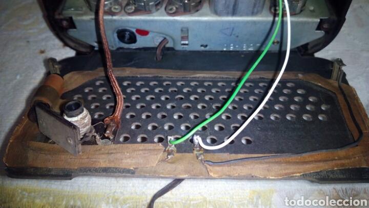 Radios de válvulas: Radio.Mini.Thomson-Ducretet.Md.3923 funciona. - Foto 12 - 206776302
