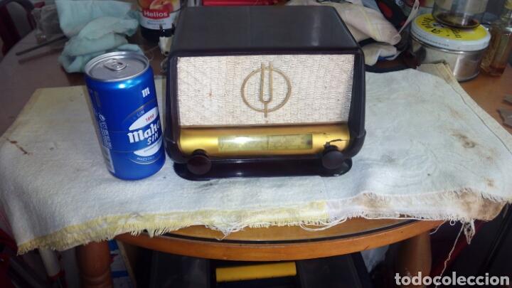 RADIO.MINI.THOMSON-DUCRETET.MD.3923 FUNCIONA. (Radios, Gramófonos, Grabadoras y Otros - Radios de Válvulas)