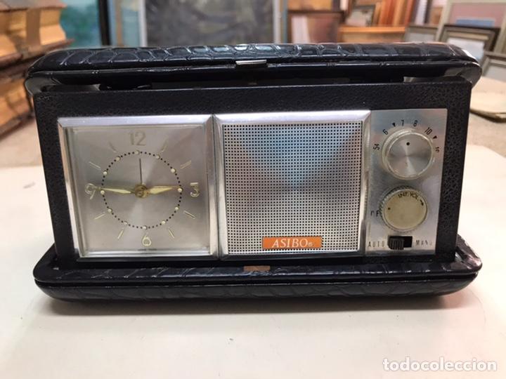 RADIO ASIBO ENGANCHADA A SU FUNDA (Radios, Gramófonos, Grabadoras y Otros - Radios de Válvulas)