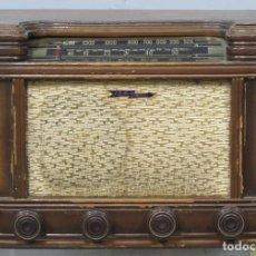 Radios de válvulas: ANTIGUA RADIO FLECHA DE PLATA. Lote 206991856