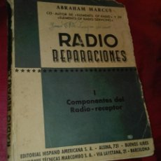 Rádios de válvulas: LIBRO RADIO REPARACIONES TOMO 1. Lote 207149357