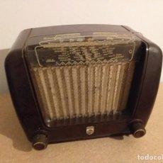 Radios de válvulas: RADIO PHILIPS BE-292-V BAQUELITA. FUNCIONANDO. Lote 207240922