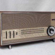 Radios de válvulas: ANTIGUA RADIO DE VÁLVULAS, MARCA MIVAR, CASI COMO NUEVA, FUNCIONANDO CON MUY BUEN SONIDO (VER VÍDEO). Lote 207412650