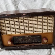 Radios de válvulas: ANTIGUA RADIO DE 5 VALVULAS MARCA INOBALT. Lote 207472381