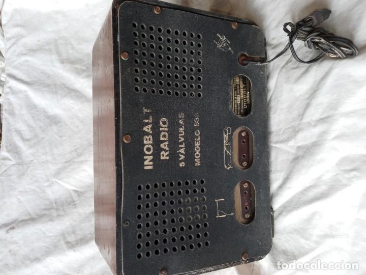 Radios de válvulas: Antigua radio de 5 valvulas marca Inobalt - Foto 2 - 207472381