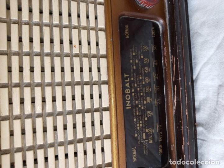 Radios de válvulas: Antigua radio de 5 valvulas marca Inobalt - Foto 3 - 207472381