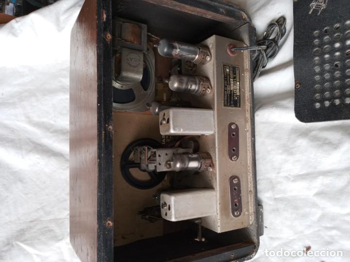 Radios de válvulas: Antigua radio de 5 valvulas marca Inobalt - Foto 4 - 207472381