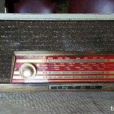 Radios de válvulas: RADIO INTER. Lote 207683528