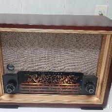 Radios de válvulas: ANTIGUA RADIO (AÑO 1949) TELEFUNKEN INTERMEZZO - MOD.865 A - FUNCIONANDO (VER VÍDEO). Lote 207882166