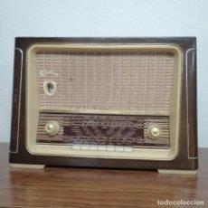 Radios de válvulas: RADIO DE VÁLVULAS ONDINA, AÑOS 50-60, 6 LÁMPARAS. FUNCIONANDO. Lote 208311700