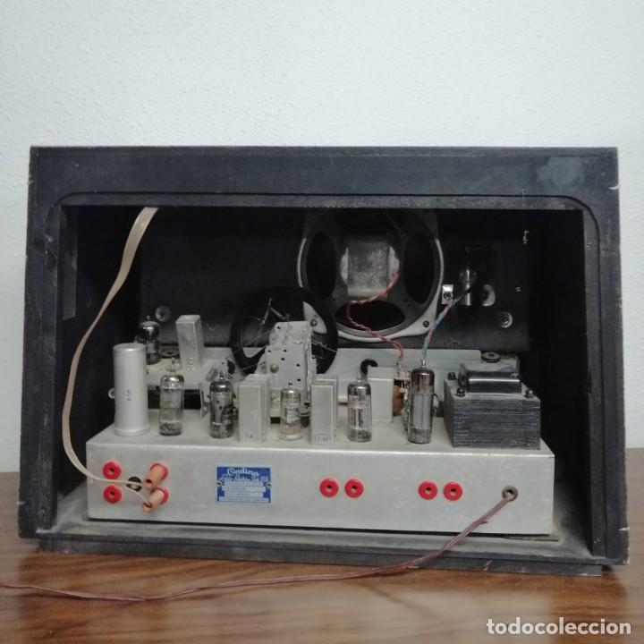 Radios de válvulas: RADIO DE VÁLVULAS Ondina, AÑOS 50-60, 6 LÁMPARAS. FUNCIONANDO - Foto 4 - 208311700