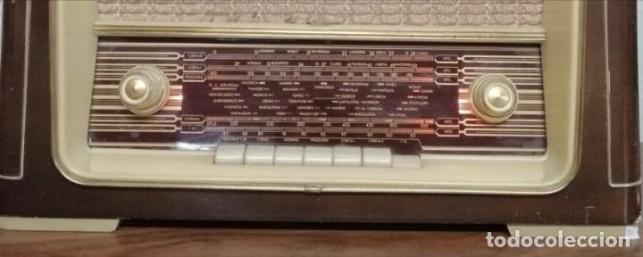 Radios de válvulas: RADIO DE VÁLVULAS Ondina, AÑOS 50-60, 6 LÁMPARAS. FUNCIONANDO - Foto 8 - 208311700