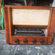Radios de válvulas: RADIO ESPAÑOLA A VÁLVULAS, JOSANSO, ELDA. Lote 208534312