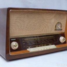 Radios de válvulas: ANTIGUA RADIO DE VÁLVULAS MARCA LOEWE-OPTA, MAGNIFICO ESTADO, GRAN SONIDO, VER FOTOS Y VÍDEO.. Lote 208910598