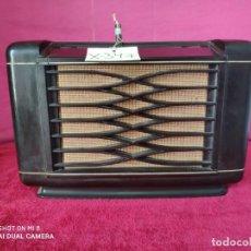 Radios de válvulas: RADIO PHILIPS EN MADERA - XXX 347. Lote 147311601