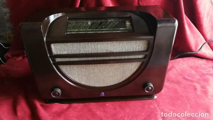 RADIO RADIOLA RA43A. BAQUELITA, EXCELENTE ESTADO,AÑO 1937, FUNCIONANDO, (VER VIDEO) (Radios, Gramófonos, Grabadoras y Otros - Radios de Válvulas)