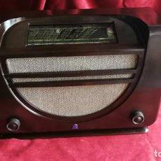Radios de válvulas: RADIO RADIOLA RA43A. BAQUELITA, EXCELENTE ESTADO,AÑO 1937, FUNCIONANDO, (VER VIDEO). Lote 209139092