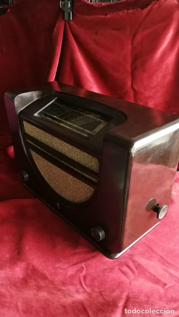 Radios de válvulas: RADIO RADIOLA RA43A. BAQUELITA, EXCELENTE ESTADO,AÑO 1937, FUNCIONANDO, (VER VIDEO) - Foto 2 - 209139092