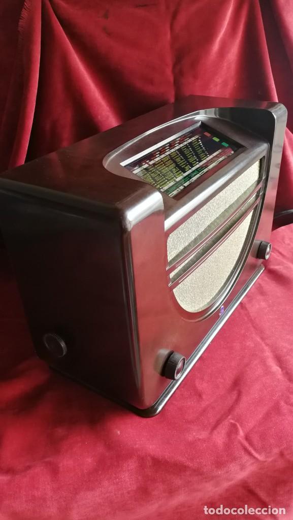 Radios de válvulas: RADIO RADIOLA RA43A. BAQUELITA, EXCELENTE ESTADO,AÑO 1937, FUNCIONANDO, (VER VIDEO) - Foto 3 - 209139092