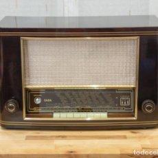Radios de válvulas: RADIO ANTIGUA A VÁLVULAS SABA MEERSBURG WII (1952) CON FM Y EL34. RESTAURADA.. Lote 209276823