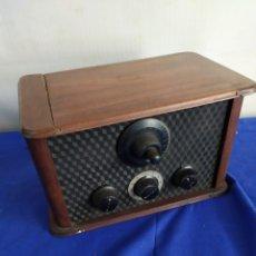 Rádios de válvulas: ANTIGUA Y RARA RADIO DE VÁLVULAS. Lote 209629215