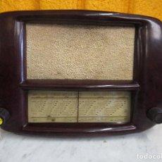 """Radios de válvulas: RADIO """" SOCORA """". Lote 209659632"""