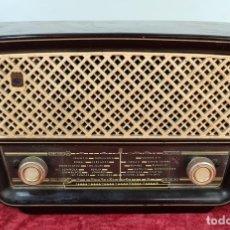 Radios de válvulas: RADIO A VÁLVULAS ASKAR MODELO 512-U. BAQUELITA. IRÚN. PAIS VASCO. 1958.. Lote 210089705