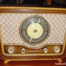 Radios de válvulas: RADIO TUNGSRAM T-1452 FUNCIONANDO CORRECTAMENTE. VER VIDEO. Lote 210264223