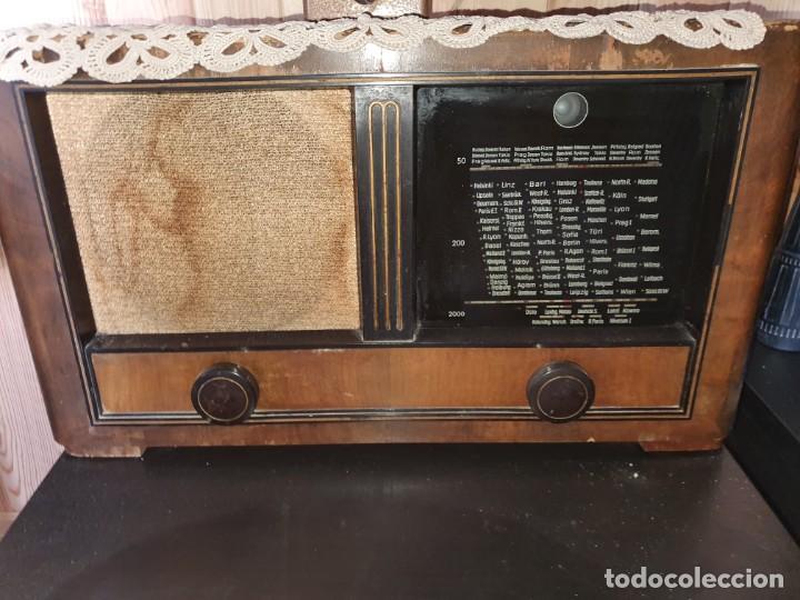 RADIO ANTIGUA DE VÁLVULAS (Radios, Gramófonos, Grabadoras y Otros - Radios de Válvulas)