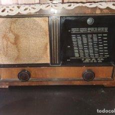 Radios de válvulas: RADIO ANTIGUA DE VÁLVULAS. Lote 210355175