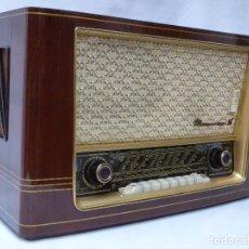 Radios de válvulas: ANTIGUA RADIO DE VÁLVULAS MARCA NORA, MAGNIFICO ESTADO Y SONIDO, VER FOTOS Y VÍDEO.. Lote 210488771
