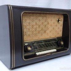 Radios de válvulas: ANTIGUA RADIO DE VÁLVULAS MARCA KAISER, BUEN ESTADO Y SONIDO, VER FOTOS Y VÍDEO.. Lote 210492662