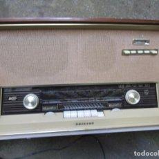 Radios de válvulas: EXCELENTE RECEPTOR RADIO DE LOS 60'S, FUNCIONANDO ' PHILIPS ' 4 BANDAS 52X34X20CM EXCELENTE + INFO. Lote 211576942