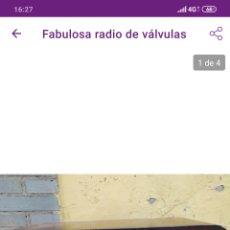 Radios de válvulas: PRECIOSA RADIO DE VÁLVULAS. Lote 211583267