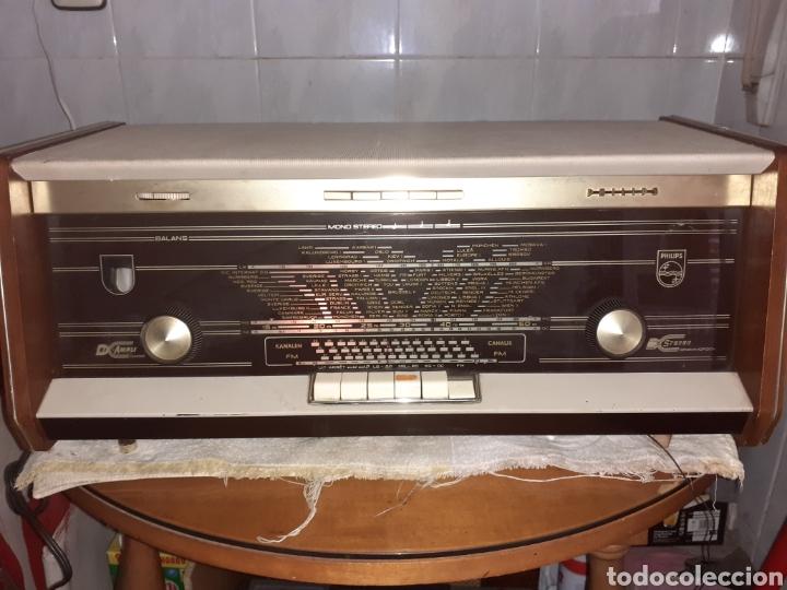 Radios de válvulas: Radio Philips B5X94A, Funcionando. - Foto 3 - 212302658