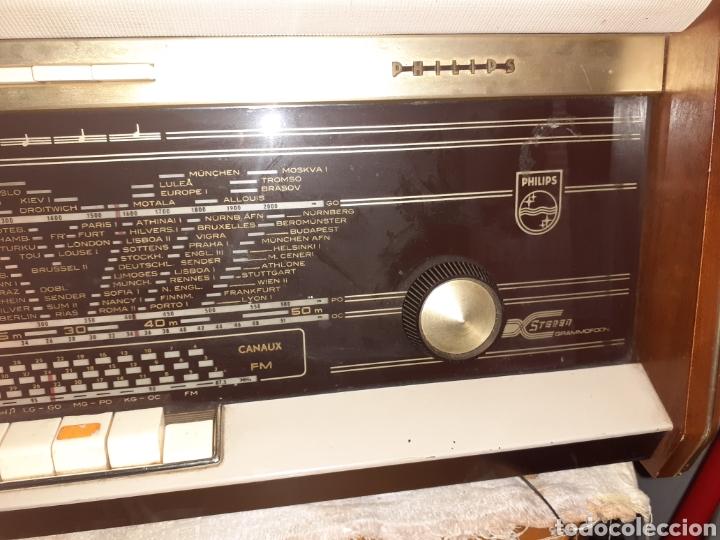 Radios de válvulas: Radio Philips B5X94A, Funcionando. - Foto 4 - 212302658