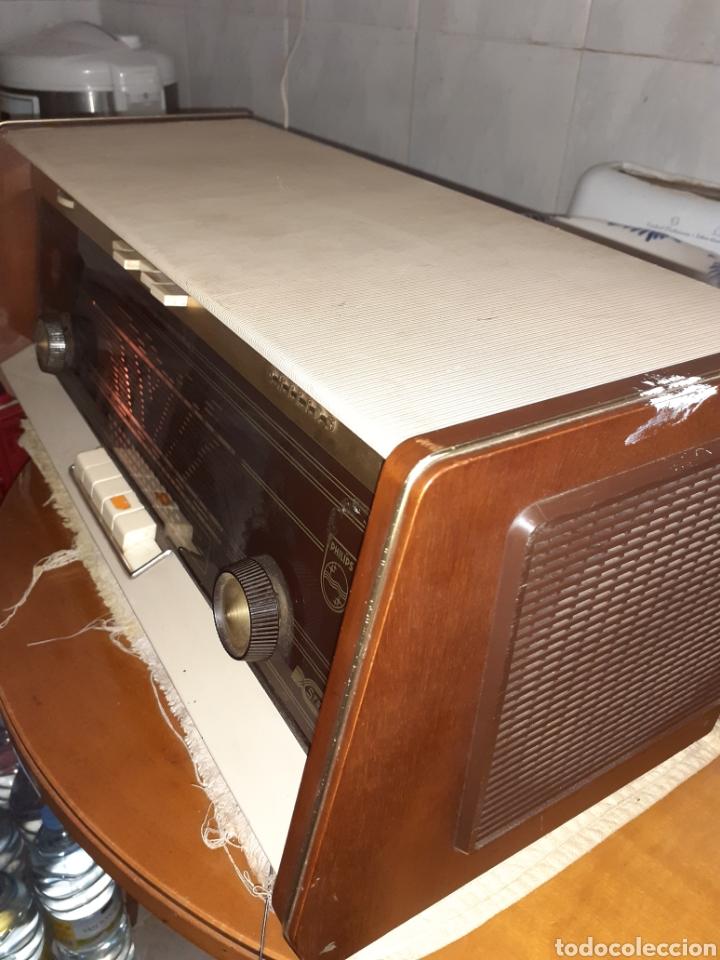 Radios de válvulas: Radio Philips B5X94A, Funcionando. - Foto 8 - 212302658